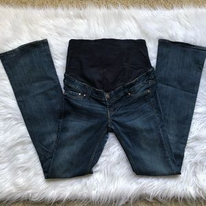 H&M MAMA maternity Bootcut High Rib Jeans A21